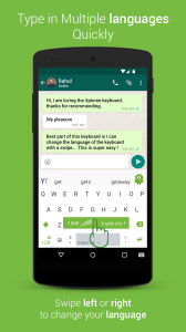 Type in the multiple languages with Xploree Keyboard
