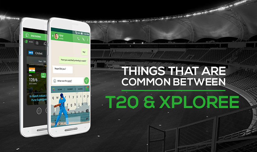 5 things common between T20 cricket & Xploree